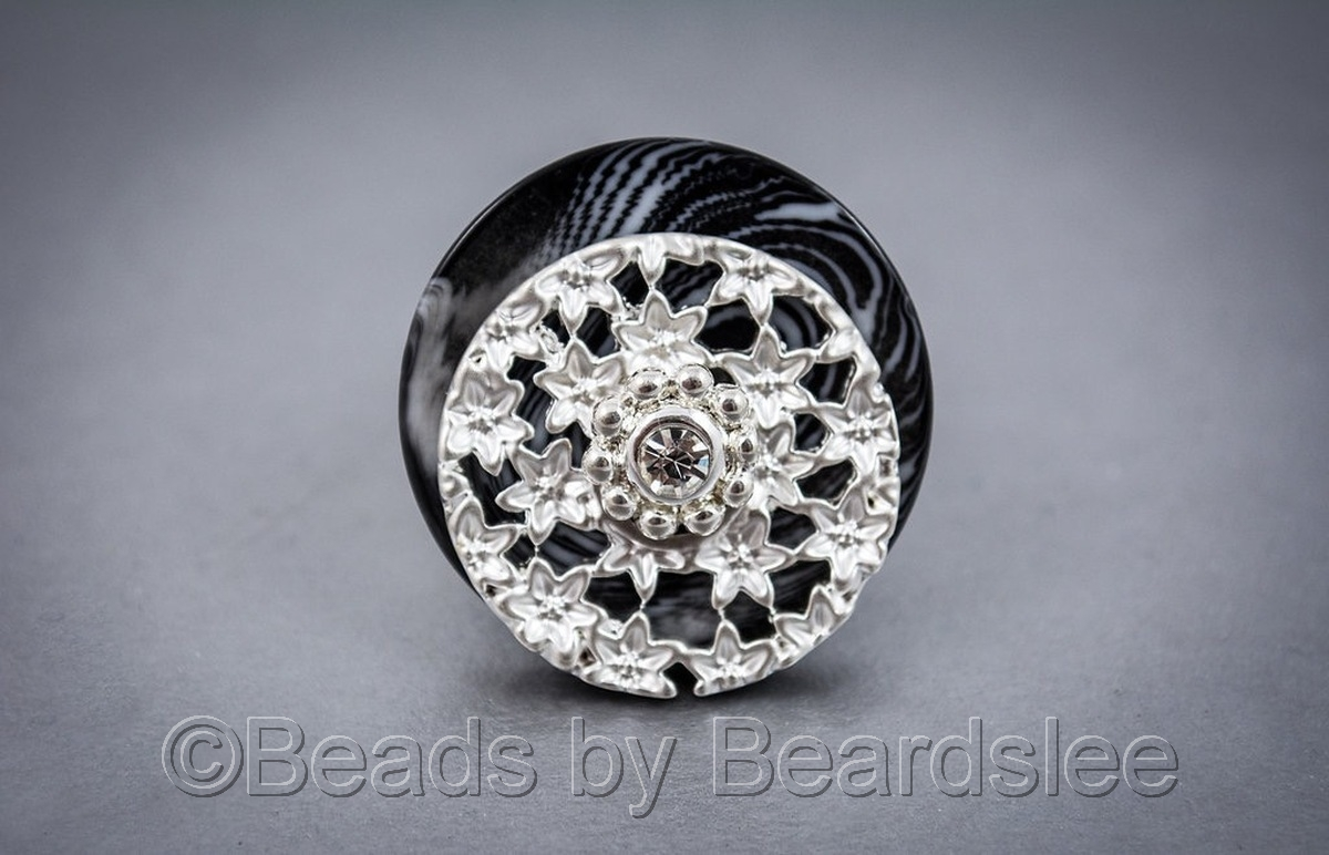 Black & Silver Ring (large view)
