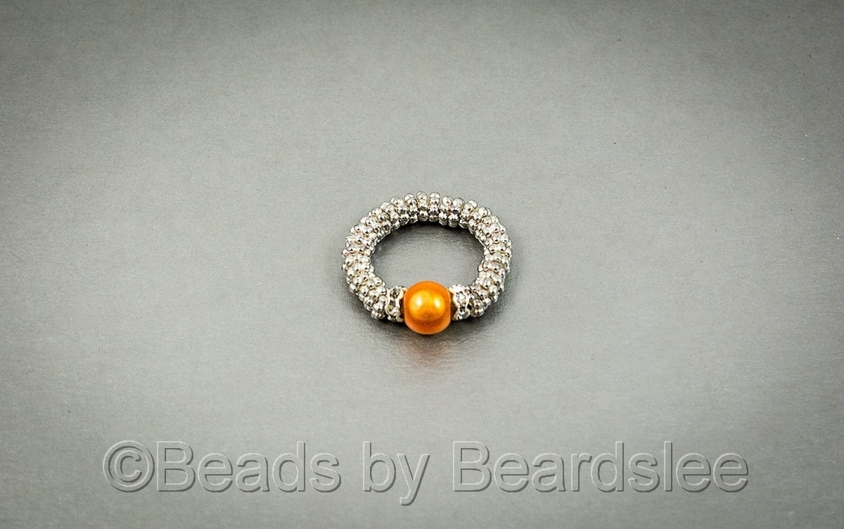 Peach Stretch Ring (large view)