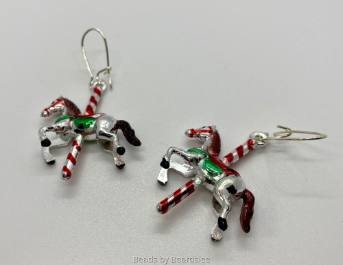 Carousel Horse Earrings (large view)
