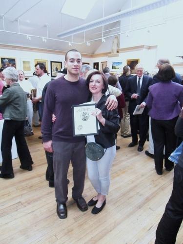 Philadelphia Sketch Club, 148th Small Oils, Award