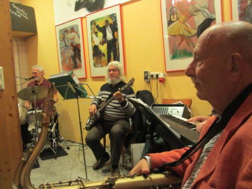Exhibition Jazz Performance Prof. Solomon
