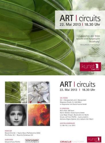 """ART CIRCUITS, KUNST 1"", Exhibition Oracle"