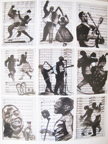 Silhouettes of Jazz 1