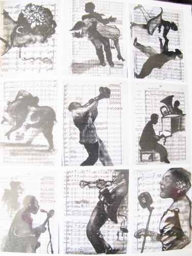 Sihouettes of Jazz 2