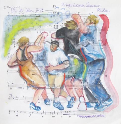Lindy Hop 2015, Rittenhouse Square, Phila