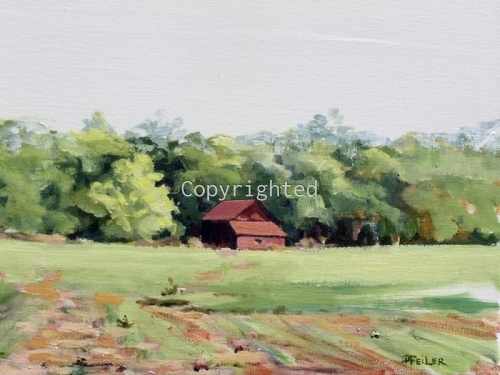 North Fork Red Barn