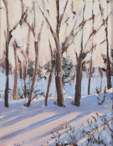 Winter Sunrise by Patricia Feiler ArtWork