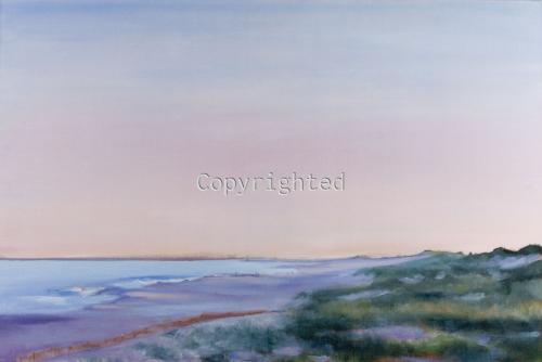 Sunset at Cupsogue Beach
