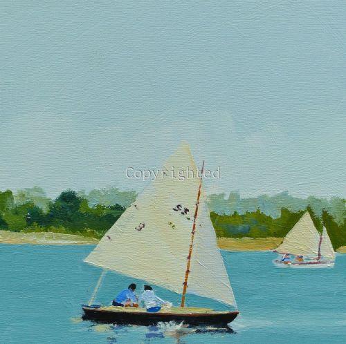 Father Daughter Sail