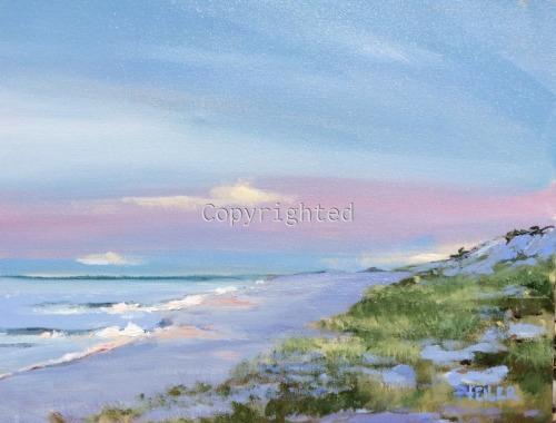 Dusk at Cupsogue Beach