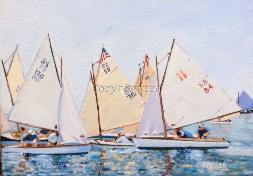 SS Race and Rendezvous by Patricia Feiler ArtWork