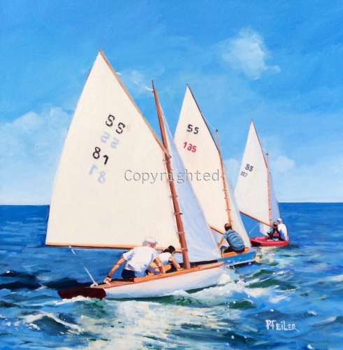 Race to the Finish by Patricia Feiler ArtWork