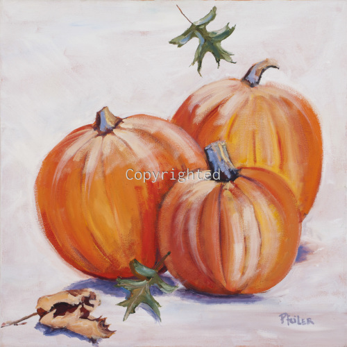 Three Jolly Pumpkins