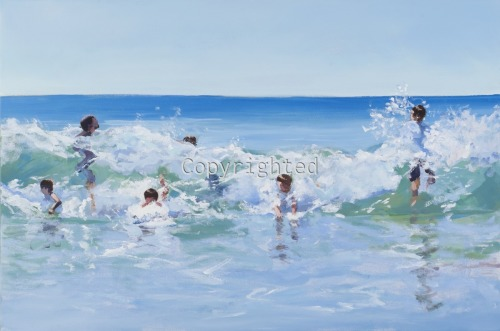 Wave riders by Patricia Feiler ArtWork