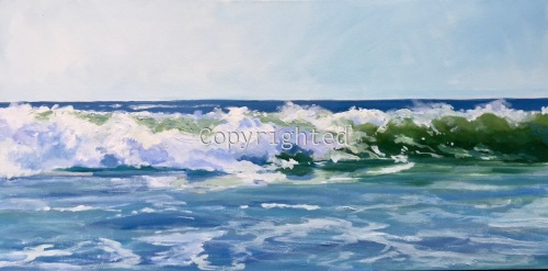 The Wave by Patricia Feiler ArtWork