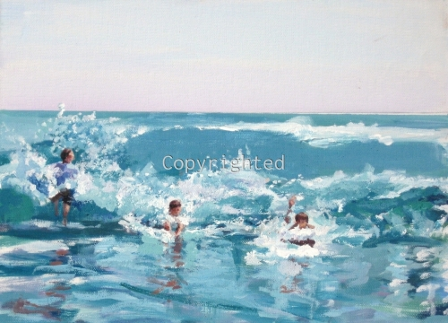 Catching the Wave by Patricia Feiler ArtWork