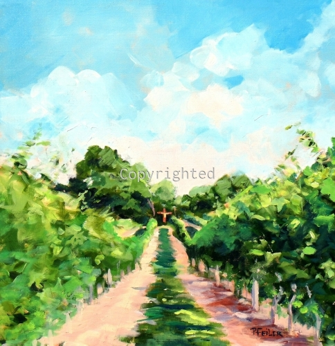 Summer Evening at Sparkling Pointe Vineyard