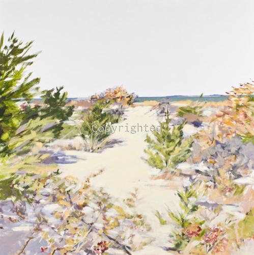 North Fork Beach Path by Patricia Feiler ArtWork