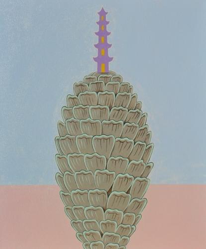 """""""Pinecone Pagoda"""""""