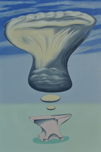 """An Anvil Dreaming of an Anvil-Shaped Cloud"""