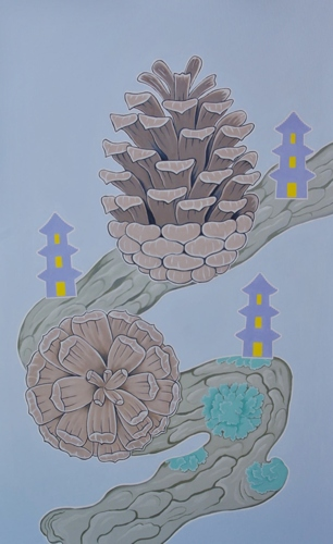 """Pinecones and Pagodas"""