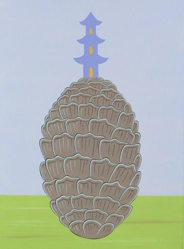 """""""Pinecone Pagoda 3"""""""