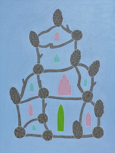 """Pagoda, Mihrabs, Synchronous Pinecones 2"""