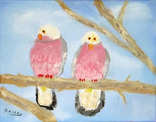 Morning Glory Doves