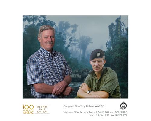 Corporal Geoff WARDEN