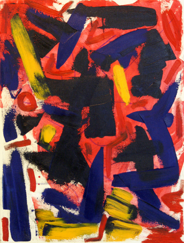 Groovin At Smalls by PHILIP TAYLOR ABSTRACT ART