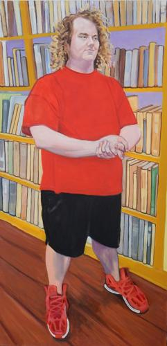 Kevin in the Yellow Library