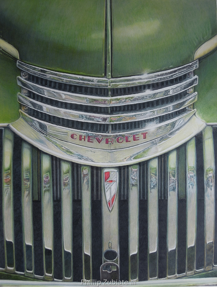 46' Chevy Grille (large view)