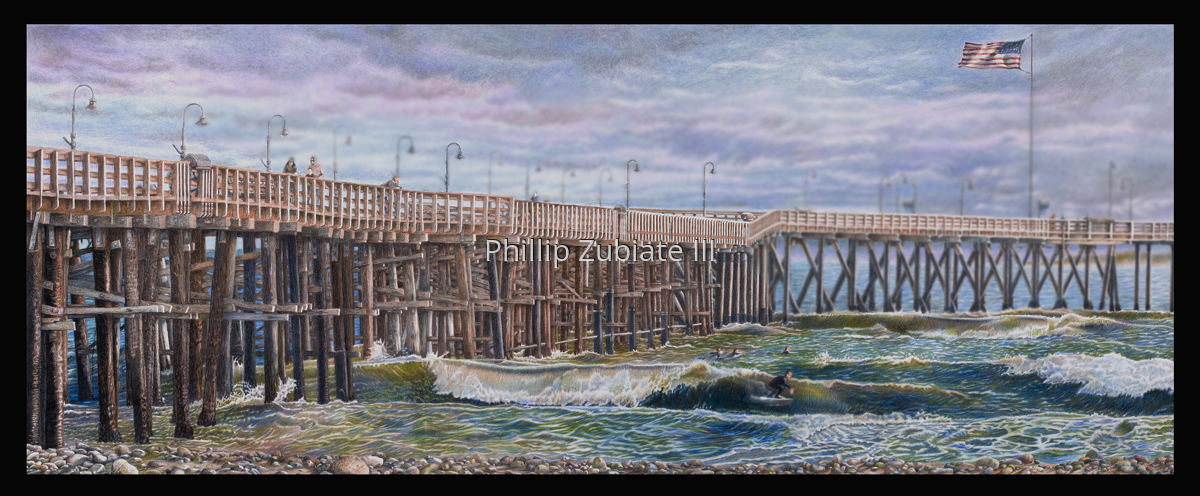 Ventura Pier Summer Swell (large view)