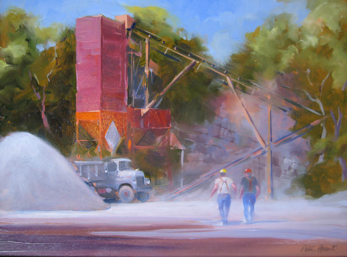 Hot and Dusty, Doylestown Quarry (large view)