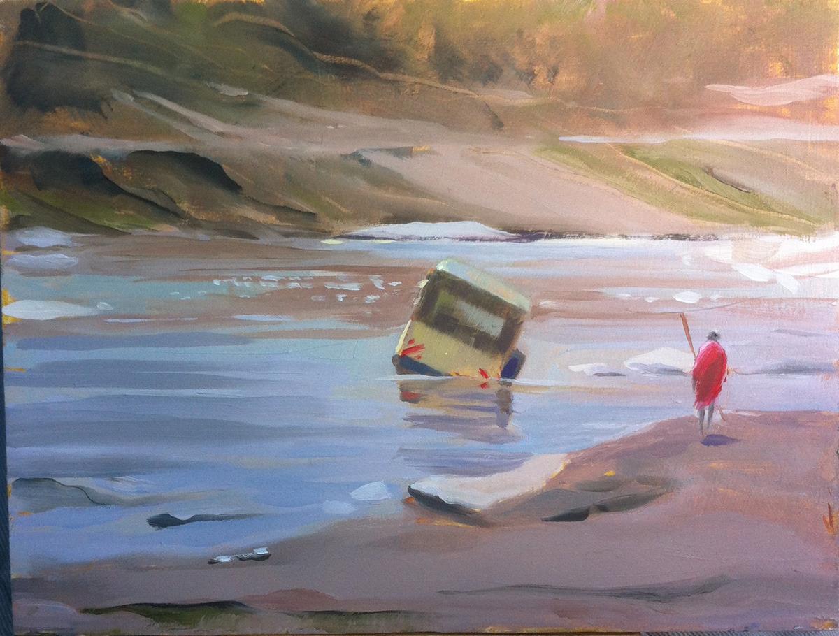 Safari painting (large view)