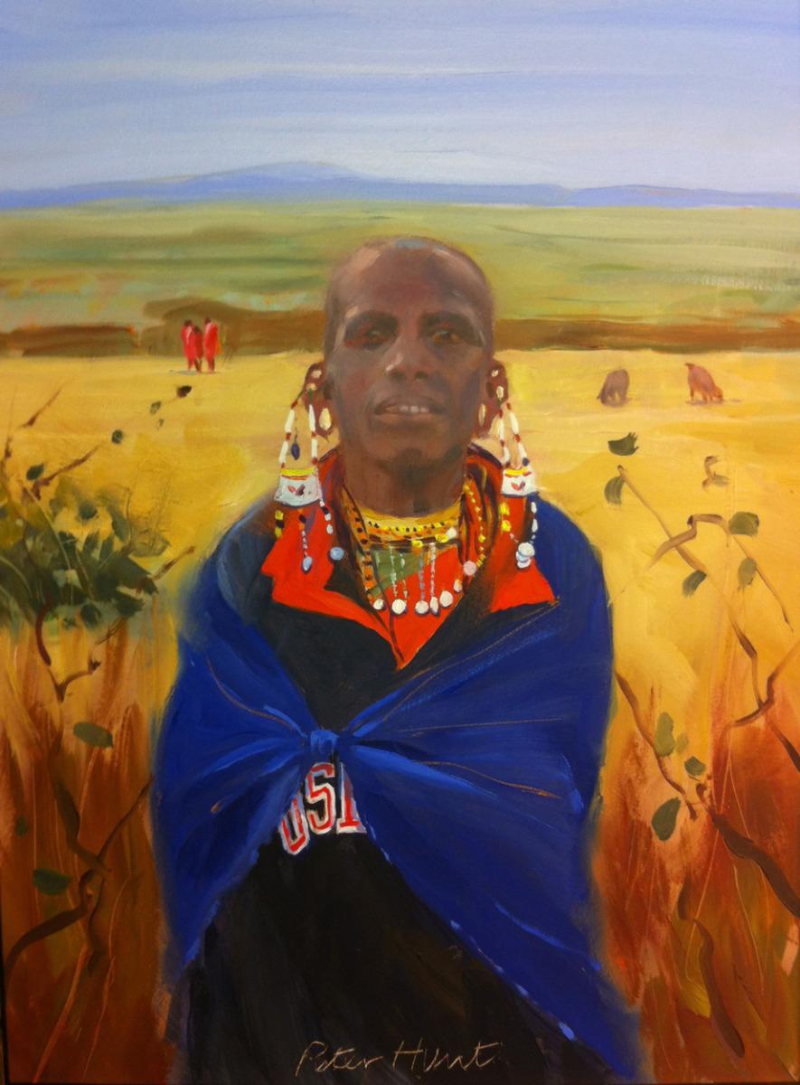 web masai woman (large view)