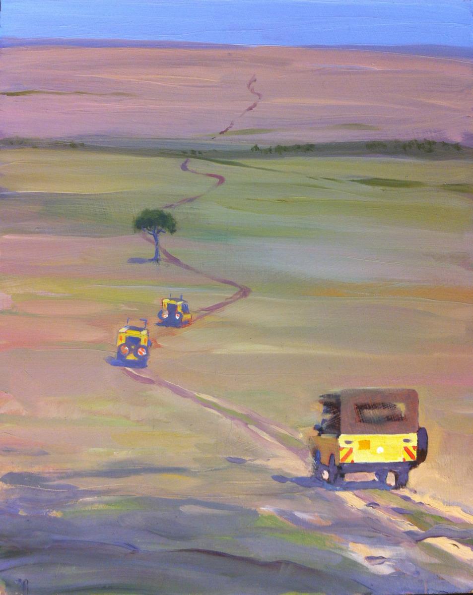 web driving into serengeti plain (large view)