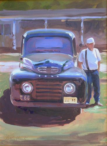 1948 Ford Truck, Holcome Farm Lambertvil (large view)