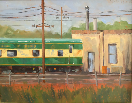 New Hope RR yard by Peter Hunt