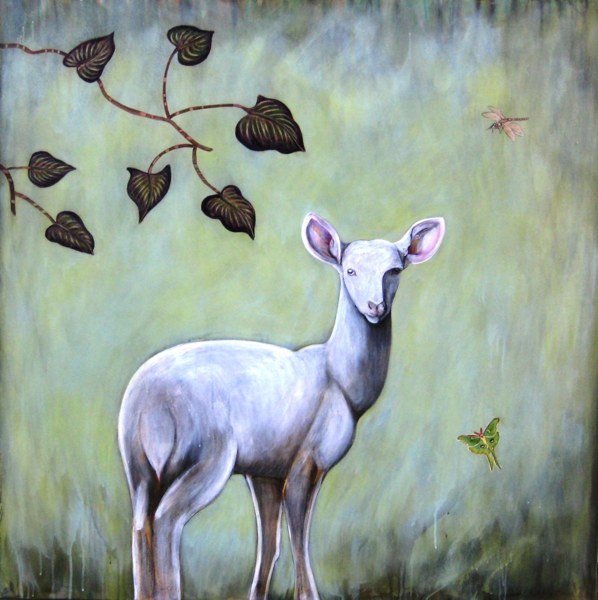 Startled Deer (large view)