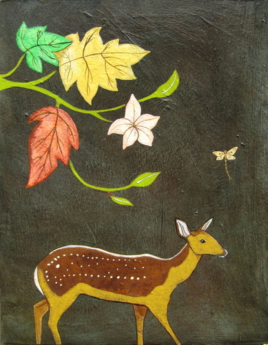 Fall/Fawn by Phyllis Stapler