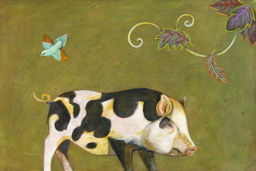 Spotted Pig by Phyllis Stapler