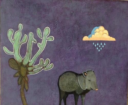 Desert Noir: Javelina by Phyllis Stapler