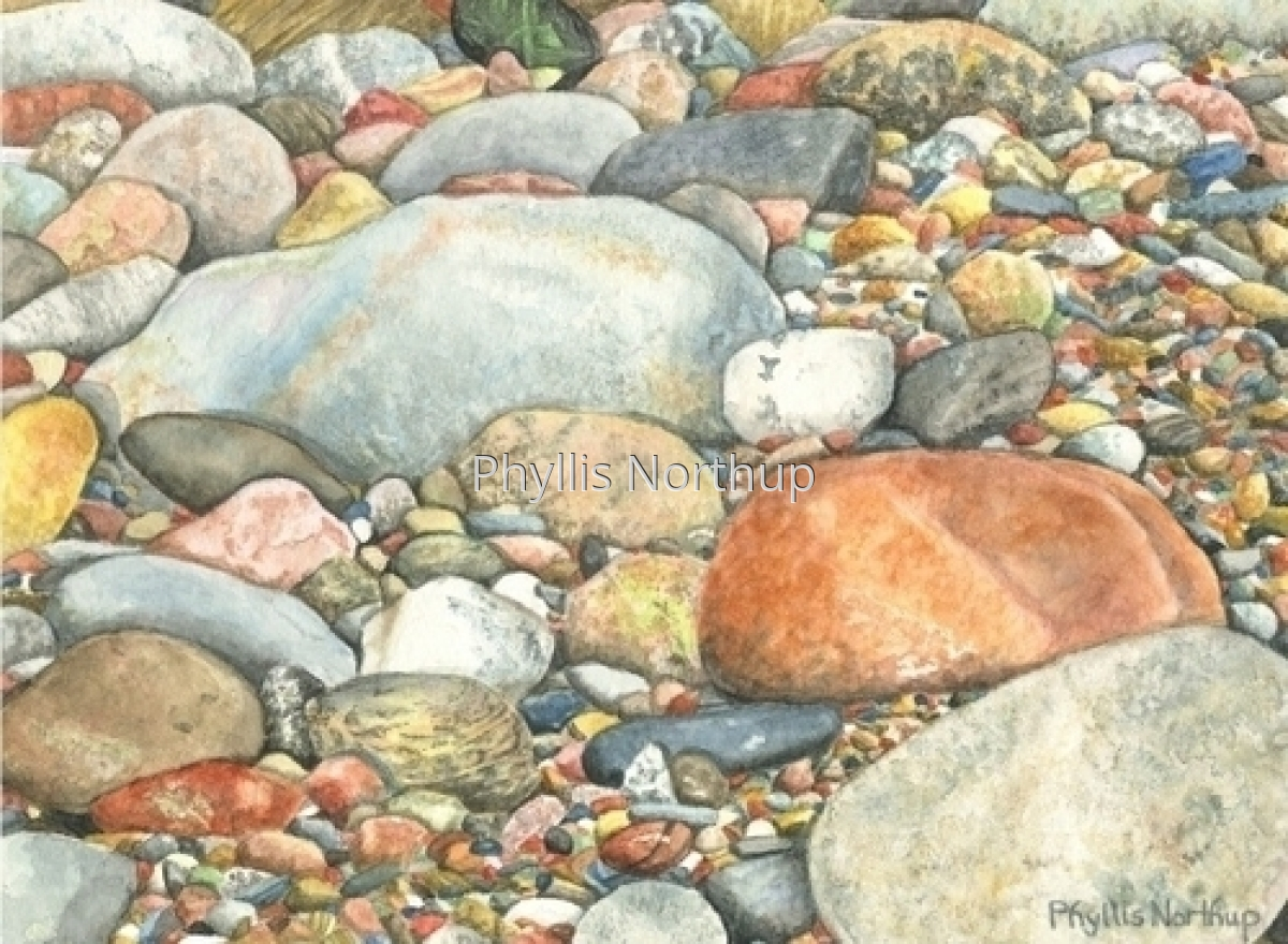 """Beach Stones"" (large view)"