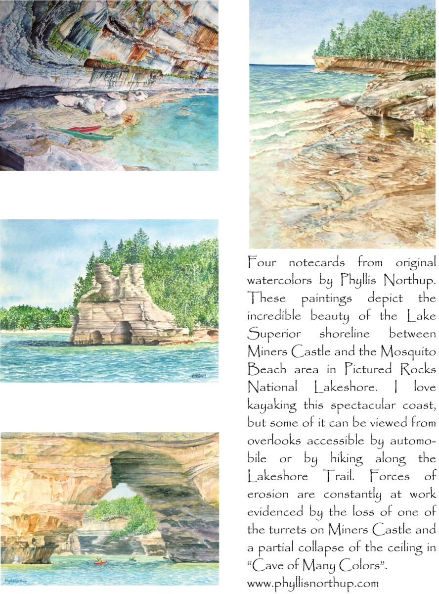 Pictured Rocks Shoreline (large view)
