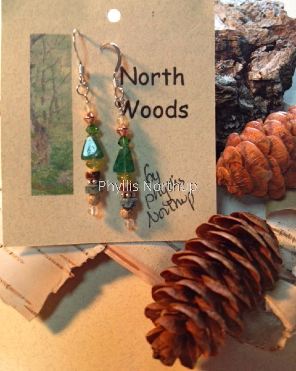 Northwoods Earrings (large view)