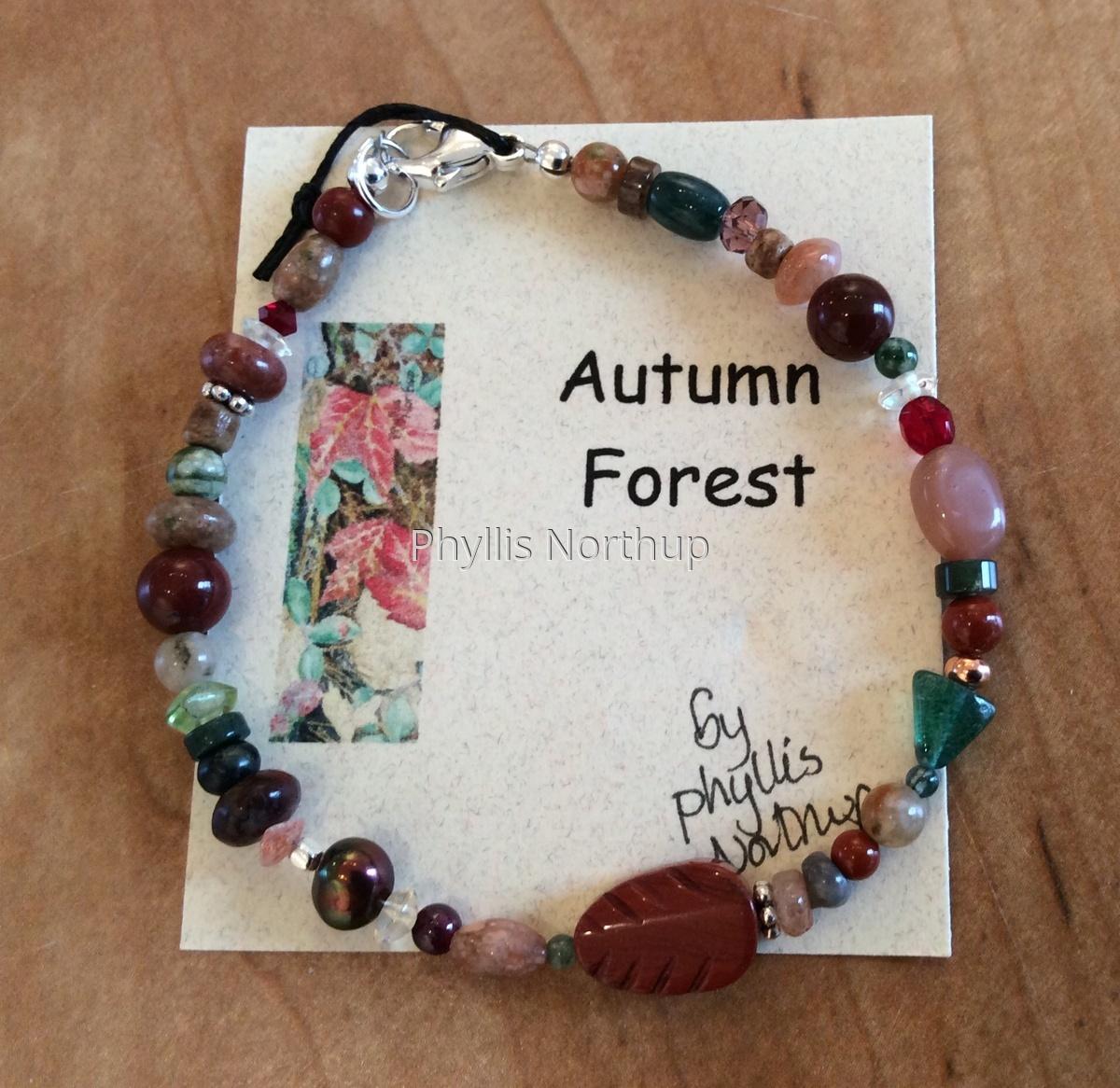 Autumn Forest Bracelet (large view)