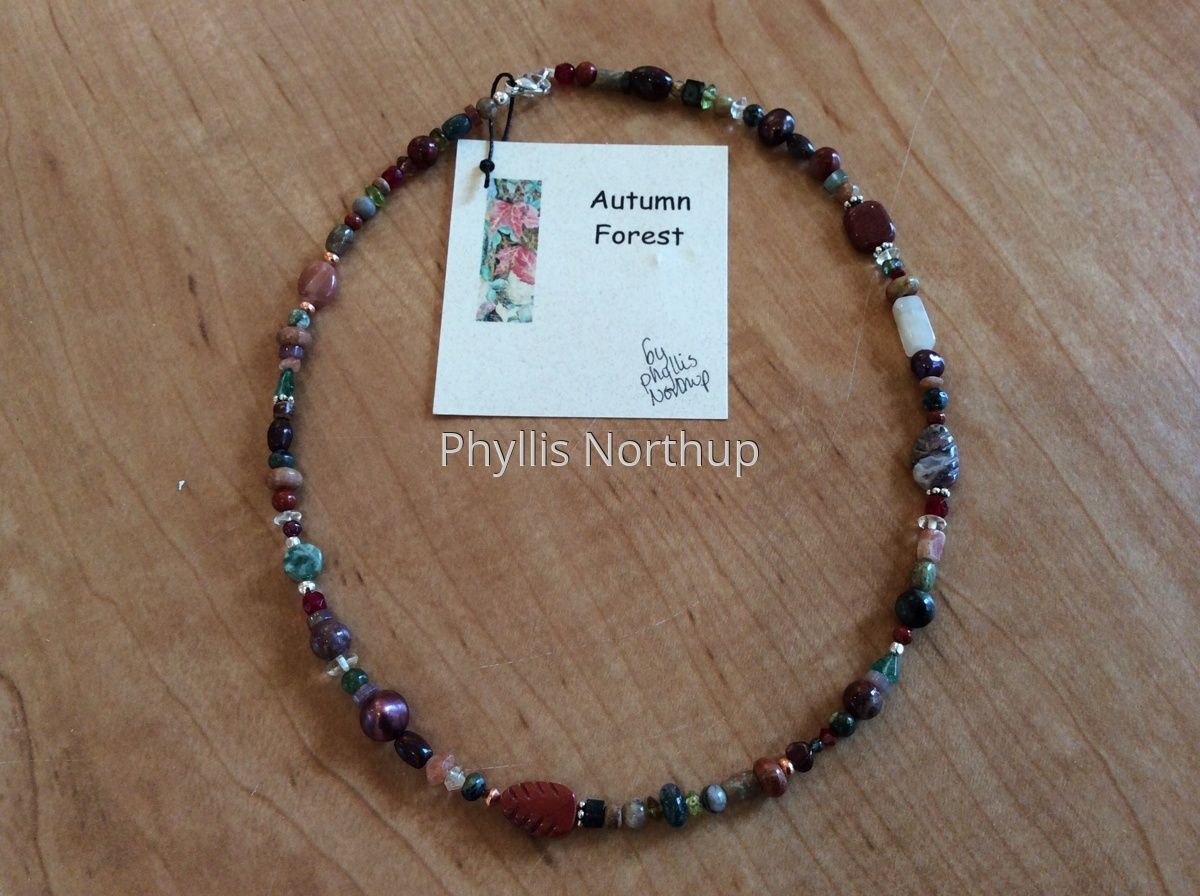 Autumn Forest Necklace  (large view)