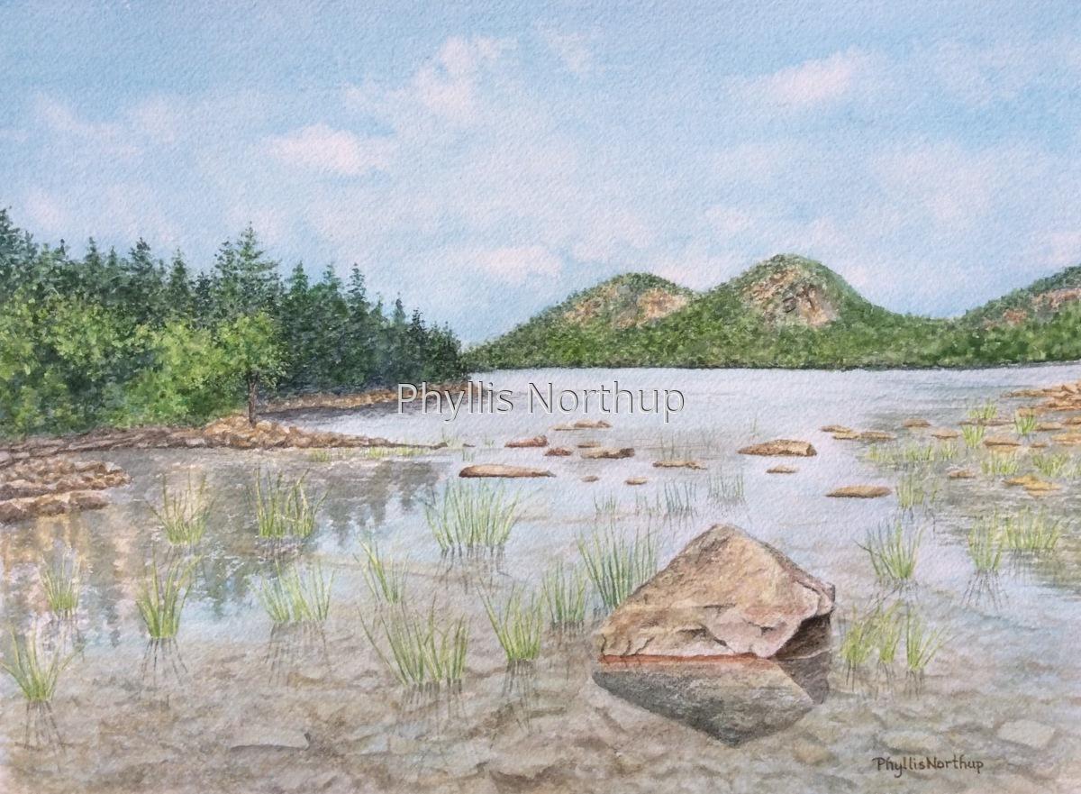 Jordan Pond, Acadia National Park (large view)