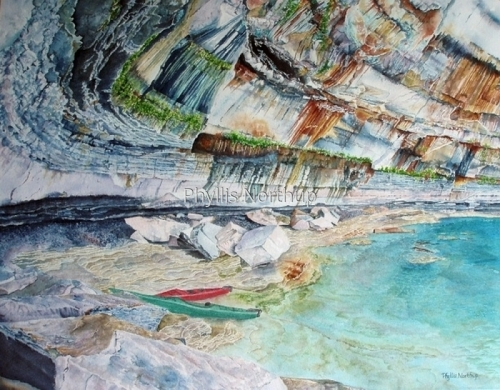 Cave of Many Colors by Phyllis Northup